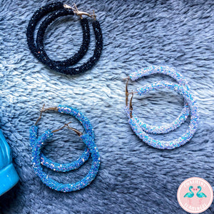 Mermaid Dust Hoops