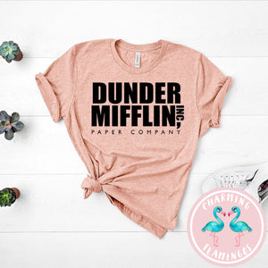 Dunder Mifflin Paper Company 'The Office' Graphic Tee