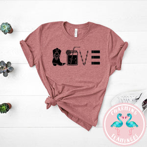 Country Love Graphic Tee