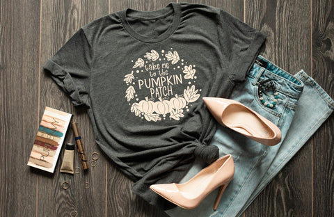 Take Me To The Pumpkin Patch Graphic Tee