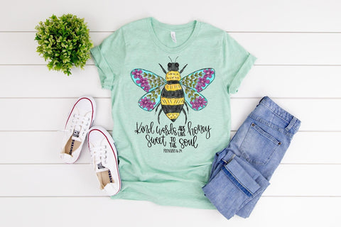 Kind Words Are Like Honey 🍯 Graphic Tee