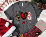 Peace, Love & Little Debbie Cakes Graphic Tee