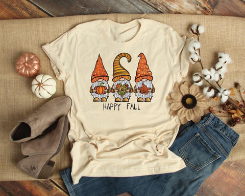 Happy Fall Gnome Tee 🍁 🍂