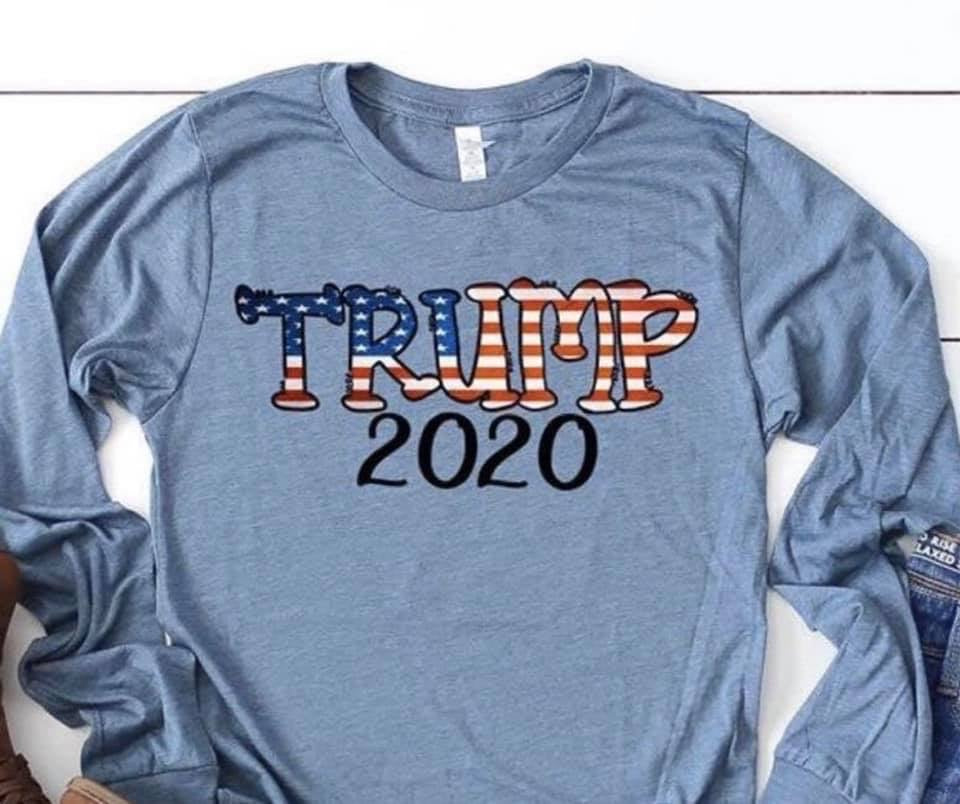 Trump 2020 Graphic Long Sleeve