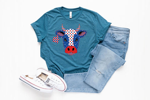 America Cow 🐄 Graphic Tee