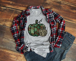 Camo Pumpkins Graphic Tee