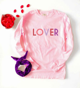 Lover Pink Long Sleeve