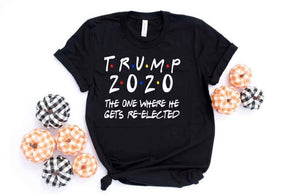 Trump 2020 Friends Graphic Tee