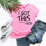 I Got This - Stop Worrying -God Graphic Tee