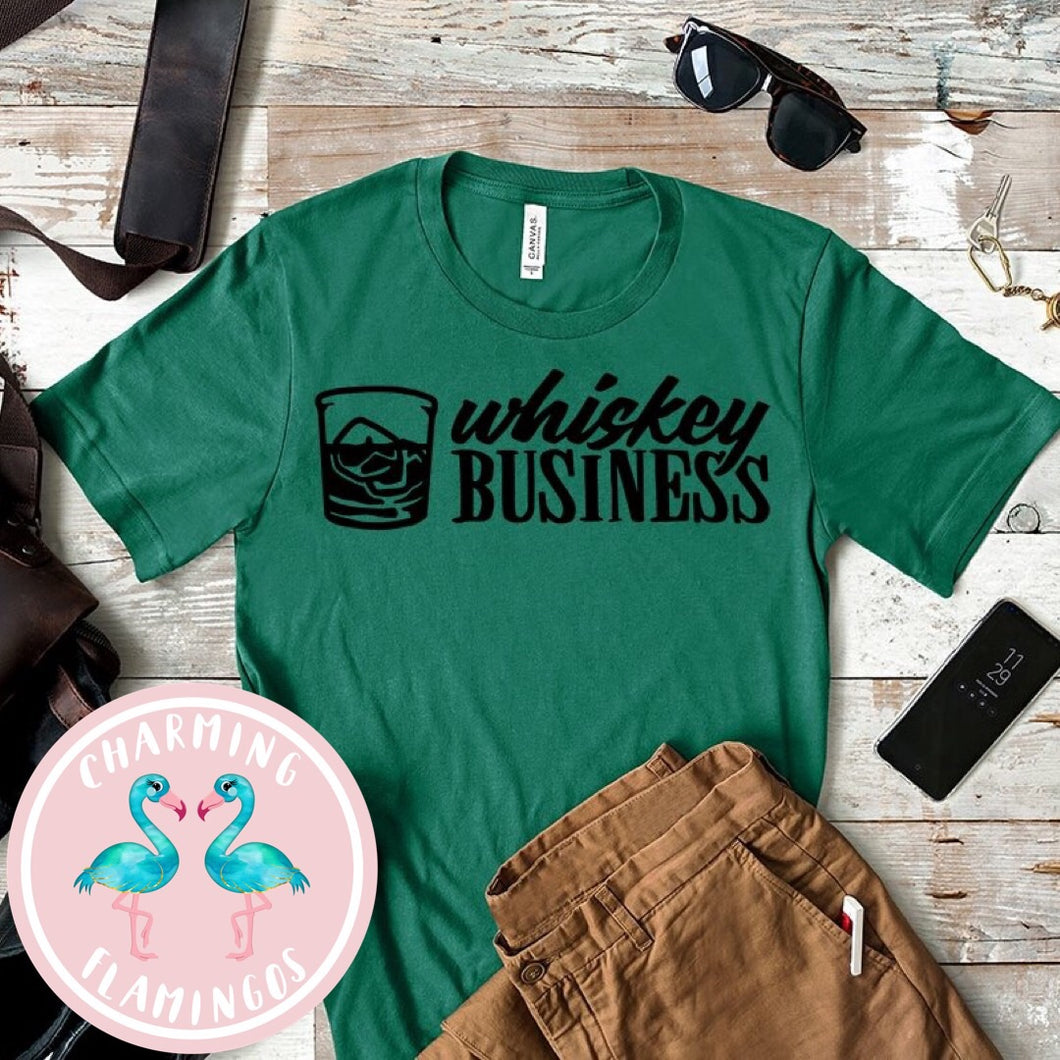 Whiskey 🥃 Business Graphic Tee
