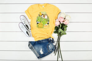 Sunflower 🌻 Cow 🐄 Graphic Tee
