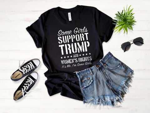 Girls Who Support Trump Graphic Tee
