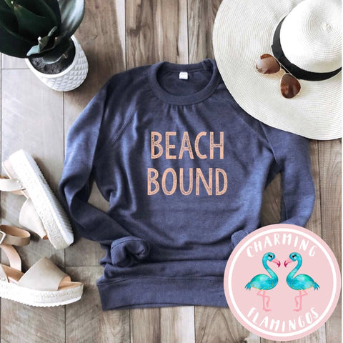 Beach Bound Lightweight Graphic Sweatshirt