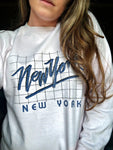 New York Cropped Sweater - Large