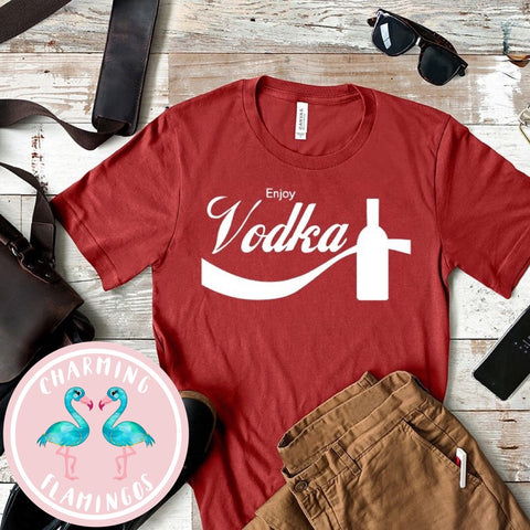 Enjoy Vodka Graphic Tee