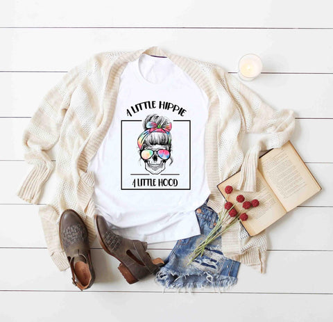 LITTLE HIPPIE LITTLE HOOD GRAPHIC TEE