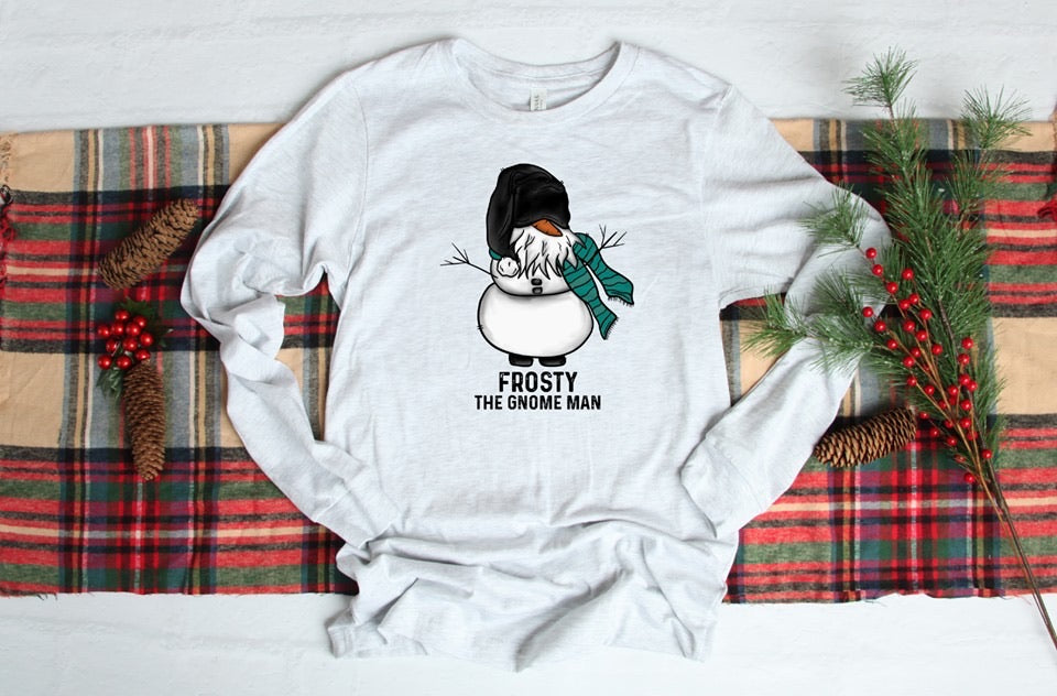 Frosty ☃️ The Gnome Man Graphic Long Sleeve