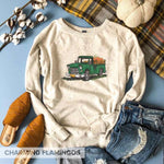 Fall Truck w/ Pumpkins 🍁 Raglan Sweater