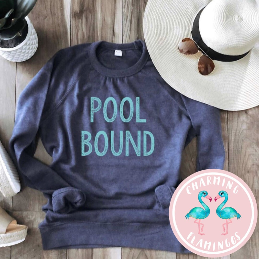 Pool Bound Lightweight Graphic Sweater