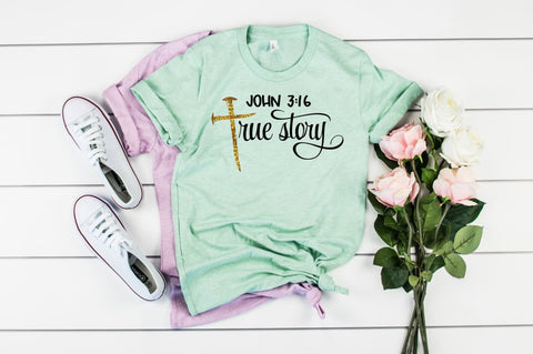 John 3:16 True Story Graphic Tee