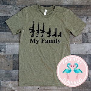 My Family Guns Graphic Tee