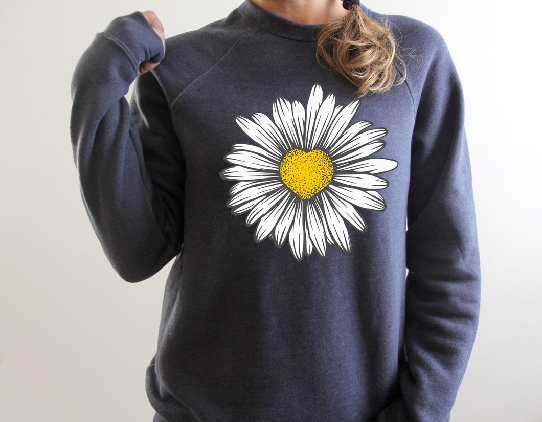 Sunflower 🌻 Heart ❤️ Sweatshirt