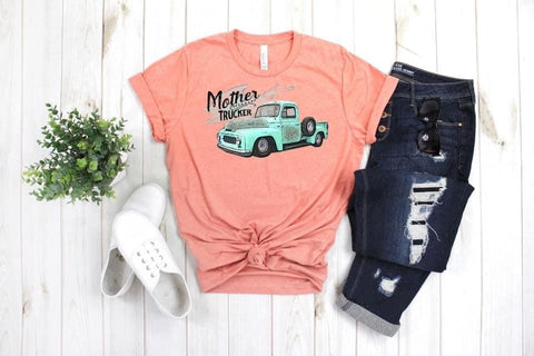 Mother a Trucker Graphic Tee
