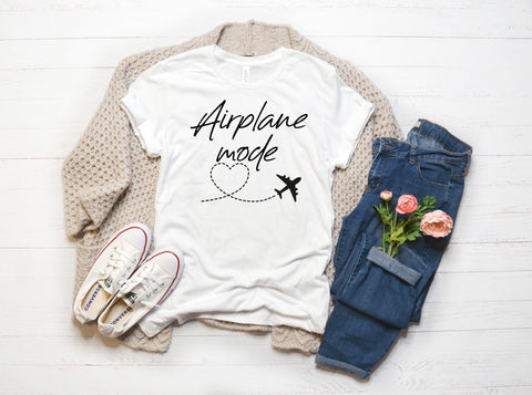 Airplane Mode ✈️ Graphic Tee