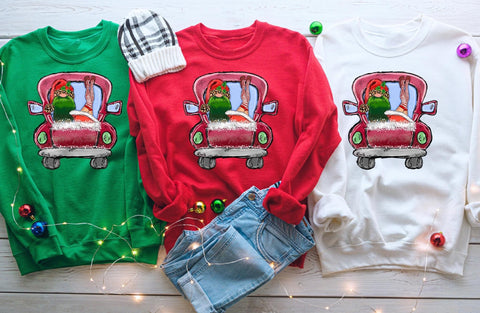 Naughty Gnome Christmas Sweatshirt