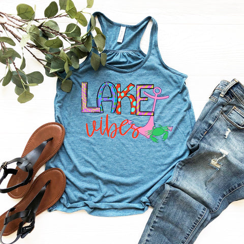 Lake Vibes Graphic Tank