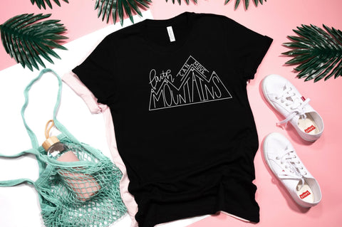 Faith Can Move 🏔 Mountains Graphic Tee