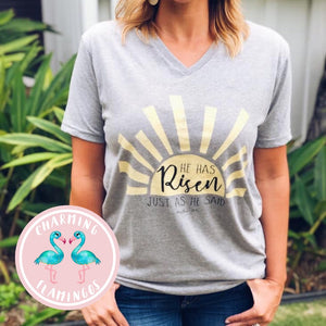 He Has Risen- Just As He Said Sunshine Graphic Tee