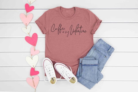 COFFEE ☕️ IS MY VALENTINE GRAPHIC TEE