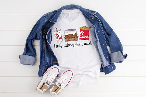 Lords Calories Don't Count Graphic Tee