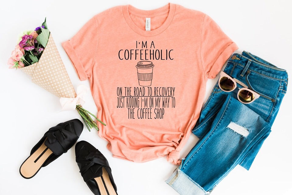 Coffeeaholic Graphic Tee ☕️