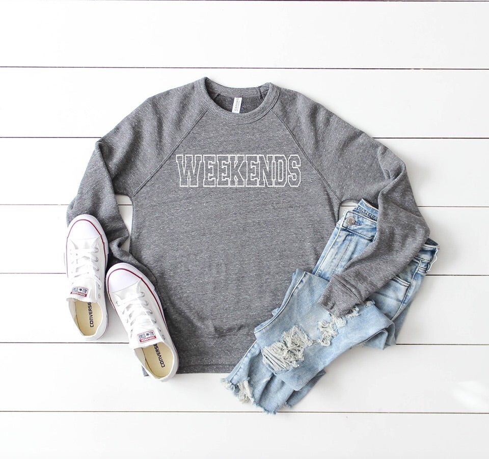Weekend Graphic Sweatshirt