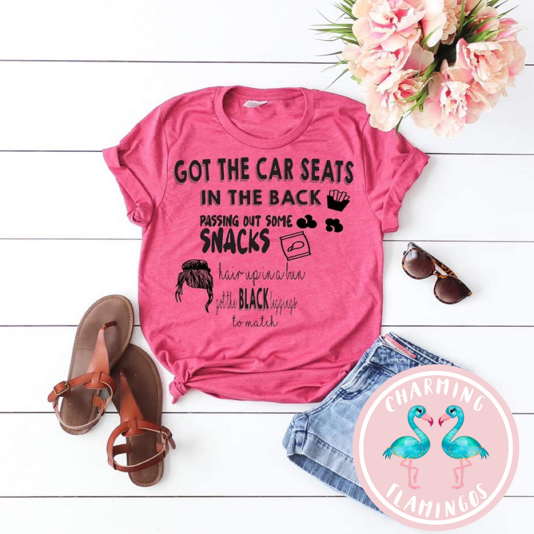 Mom Version Old Town Road Graphic Tee