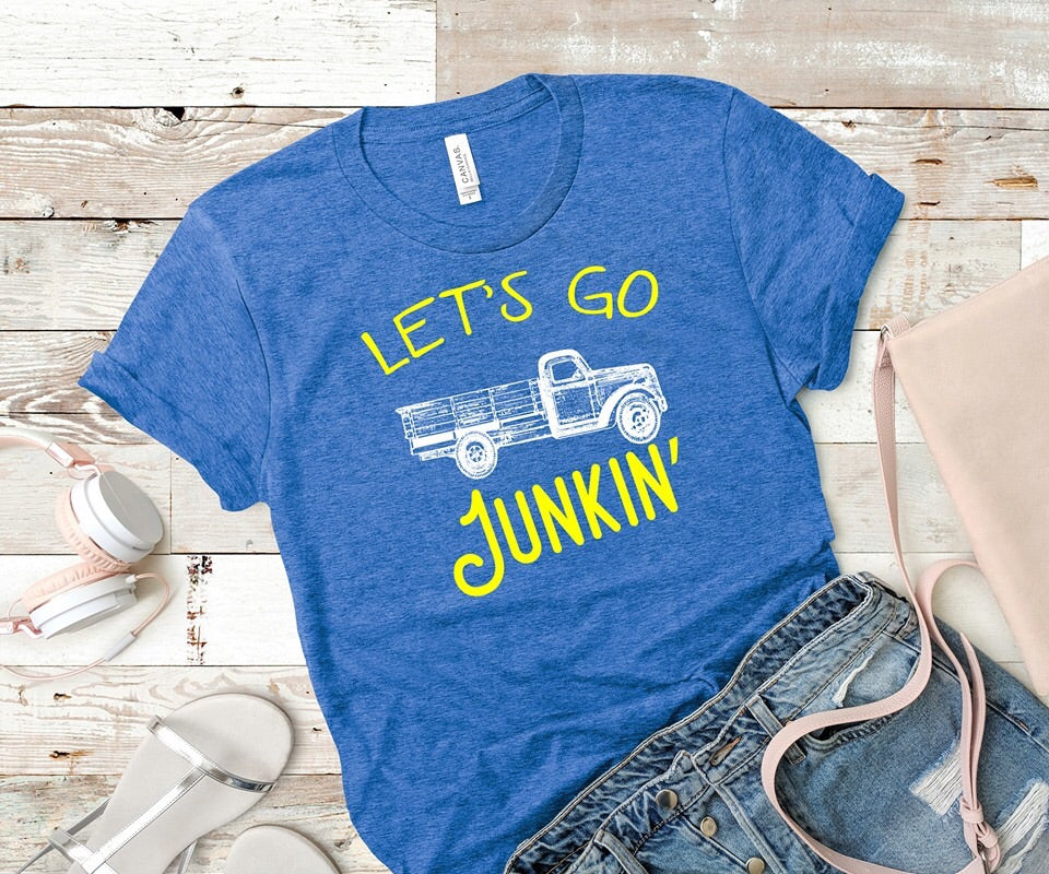 Let's Go Junkin' Graphic Tee