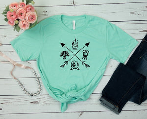Disney Arrows Design Graphic Tee
