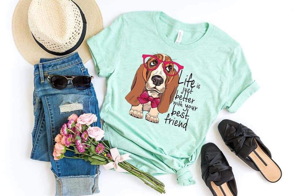 Dogs 🐶 Bestfriend Graphic Tee
