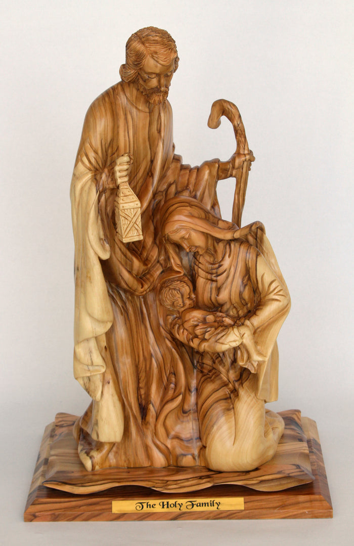 Jesus' Family with Staff - Large