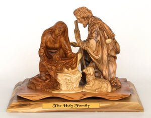 Jesus' Family Kneeling