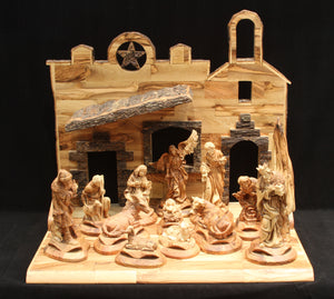 Nativity Set - Beautifully Carved
