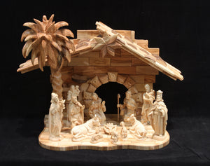 "Medium ""New"" Nativity Set"