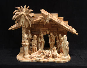 Traditional Nativity Set - Medium