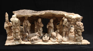 Natural Nativity Set - Large