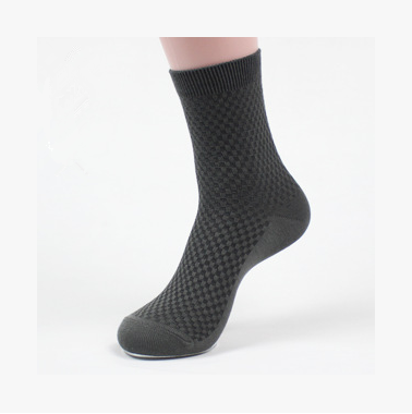 Men's Bamboo Cotton Blend Dress Socks