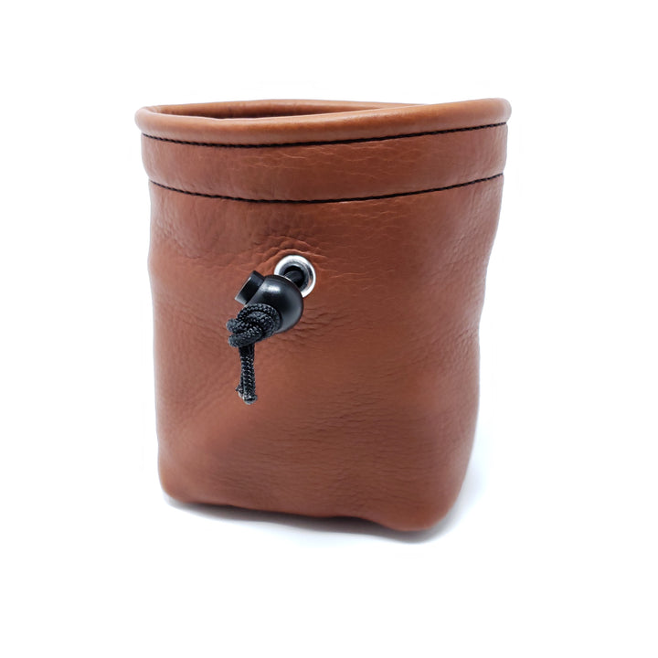 Bison Leather Treat Bag