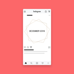 Instagram Placeholders | Geo Gold