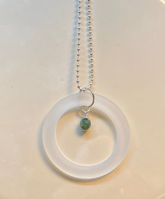 May Emerald Birthstone Pendant